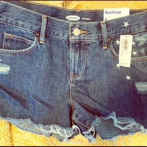 NWT Boyfriend Shorts